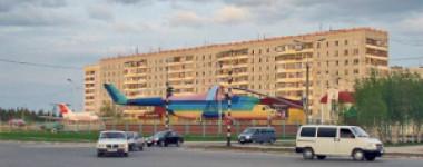 Детский городок в Усинске